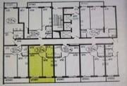 продается однокомнатная квартира(50 м2) в ЖК