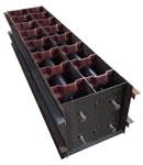 Формы для производства пазогребневых  пеноблоков серии Robus  - main